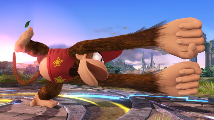 Diddy Kong Luffy